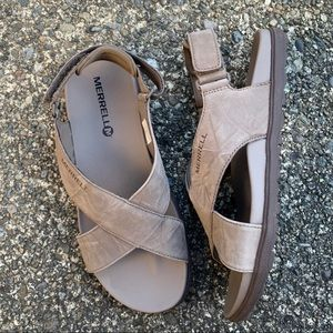 Merrell Around Town Sunvue Strap Sandals Size 7
